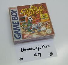 """""""Castle Quest"""" Jeu Game Boy (complet) / FAH"""