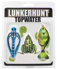 LunkerHunt Topwater Combo Dragonfly Lunker Frog Prop Fish Bait Lures Topcom01