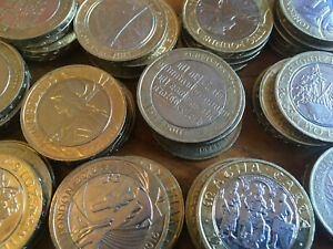 CHEAPEST £2 COINS TWO POUND RARE COMMONWEALTH OLYMPIC TERRITORIES ERROR COINS