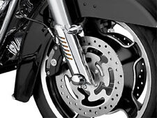 Harley FLHTK 10-13Fork Leg Deflector Shields Lower Chrome by Kuryakyn