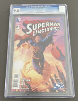 DC Comics Superman Unchained #1 CGC 9.8 Booth Variant Justice League Jim Lee