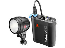 Jinbei MARS-3 TTL Battery Outdoor Studio Strobe Flash 300Ws With HSS 1/8000s