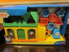 FISHER PRICE MY FIRST THOMAS & FRIENDS TIDMOUTH SHAPE SORTER BRAND NEW IN BOX