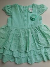 PUMPKIN PATCH BABY INFANT GIRL COTTON RUFFLE PARTY DRESS SIZE 000 FITS 0-3M