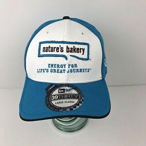 New Era 39Thirty Nascar Nature's Bakery Danica Patrick #10 Fitted Hat Lrg/XLrg