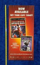 ULTIMATE SPIDER-MAN Video Game Store Display Sign 2005 VENOM Promo PlayStation