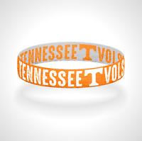 Reversible Tennessee Vols Bracelet Wristband Go Vols Bracelet