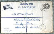 GB Registered Letter Envelope – GVIR – H Size - RP71  (Le2)