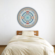Indian Spiritual Mandala Vinyl Wall Art Sticker for Home Decor / Interior Des...
