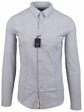 """CALVIN KLEIN JEANS Herren Hemd Men Shirt 2XL XXL 45 17.75"""" Baumwolle & Elasthan"""