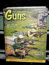GUNS 3/1961~SPANDAU 98~LUGER FAST DRAW~ELMER KEITH~SHARPS~COLT NEW SERVICE M1909