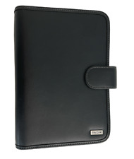Franklin Covey Day One Planner Organizer 7 Ring 7 X 10 Black