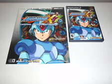 Mega Man X7 PlayStation 2 PS2 Game Complete with Strategy Guide Megaman X7