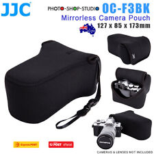 AU *JJC OC-F3BK Camera Pouch for Mirrorless Camera (127 x 85 x 173mm)