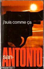 SAN-ANTONIO n°16 ° J'SUIS COMME CA ° 30/11/1973 F1