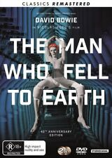 THE MAN WHO FELL TO EARTH - 40th Anniversary Remastered : NEW DVD