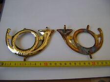 Großes Horn für Helm oder Kartuschkasten 1813