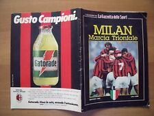 MILAN MARCIA TRIONFALE - MAGGIO 1992 - QUADERNI GAZZETTA DELLO SPORT