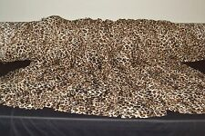 "Stretch Allover Lace Brown Leopard 4 Way Stretch 57"" Wide Fabric by the Yard"