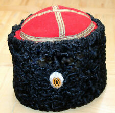 WWI Papakha Imperial Russia Don Cossack Officer Hat karakul sz 57 without scroll