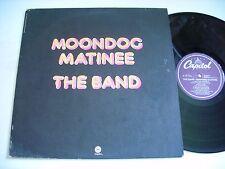 w POSTER The Band Moondog Matinee 1973 LP VG+