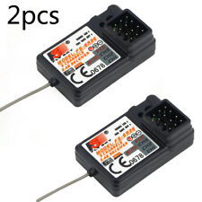 2Pcs Flysky FS-GR3E Receiver for FS-GT2 FS-GT2B FS-GT3B FS-GT3C FZ-IT4S RC Car