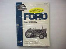 NEW! IT MANUAL FORD FORDSON, DEXTA, SUPER MODEL TRACTORS # FO-201 - pm