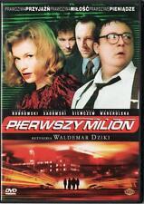 Pierwszy milion (DVD) 2000 Waldemar Dziki  POLSKI POLISH