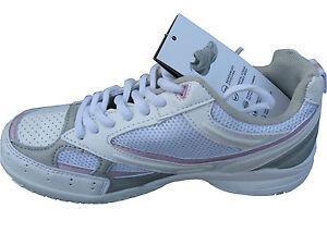 Brand new SLAZENGER boys girls shoes size US-6B white /grey/pink