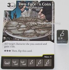 TWO-FACE'S COIN: TAILS, YOU LOSE 114/124 Batman Dice Masters DC Rare