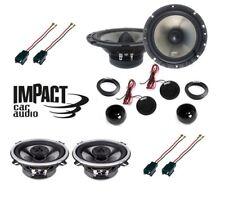 IMPACT Set 6 Haut Parleur Pour Peugeot 307 2001>2008 Avec Connecteurs Phonocar >