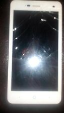 zte blade 3 white virgin cracked screen does not switch onb
