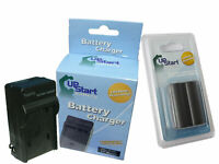 Battery + Charger for Canon EOS 50D, EOS 300D, PowerShot G2, BP-511A, Optura 20