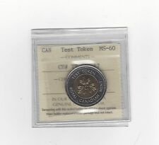 **Test Token**ICCS Graded Canadian, Toonie, Two Dollar, **MS-60**TT-200.17
