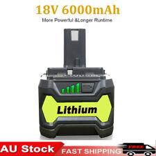 2-pack 18v 5.0ah Li-ion Battery for Ryobi 18v One Tool Rb18l50 Rb18l40 P108