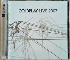 COLDPLAY - LIVE 2003 - CAPITOL - CD + DVD