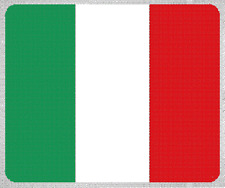 "Blanket Fleece Throw National Flag Italy 50""x60"" NEW with protective sleeve"