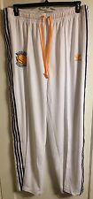 Authentic Game Worn Golden State Warriors Adidas Pants Andrew Bogut 4XLT Warm Up