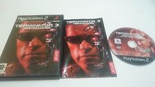 JUEGO COMPLETO TERMINATOR 3 RISE OF THE MACHINES PLAYSTATION 2 PS2 PAL ESPAÑA