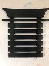 Karate Belt Display Rack 6 Slat Painted
