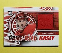2012-13 ITG Motown Madness, Dino Ciccarelli, Game Used Jersey, Red M-16 140 Made