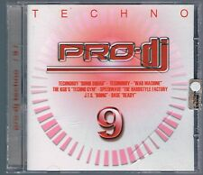 PRO DJ TECHNO vol. 9 CD F.C. NUOVO!!!