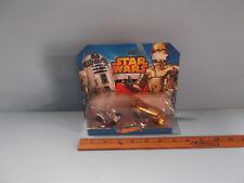 2014 Hot Wheels Star Wars R2-D2 & C3-PO Drag Bus and Bubble Top Hot Rod NIP