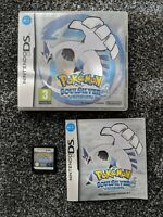 Pokemon SOULSILVER, Nintendo 3DS/DS with original case, soul silver PAL genuine