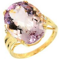 Bague or, améthyste et diamants