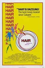 HAIR Movie POSTER 27x40 C Treat Williams John Savage Beverly D'Angelo Annie