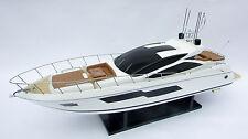 "SUNSEEKER PREDATOR 80 Model 33"" - Handcrafted Wooden Ship Model NEW"