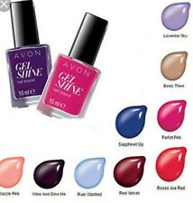 Avon mark. gel shine Nail Enamel ~ barely there New