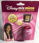 Disney Mix Micro MP3 Player & Music Card Plug & Play Sealed Disney Clip Included