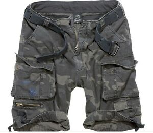 Brandit Savage Vintage Shorts darkcamo